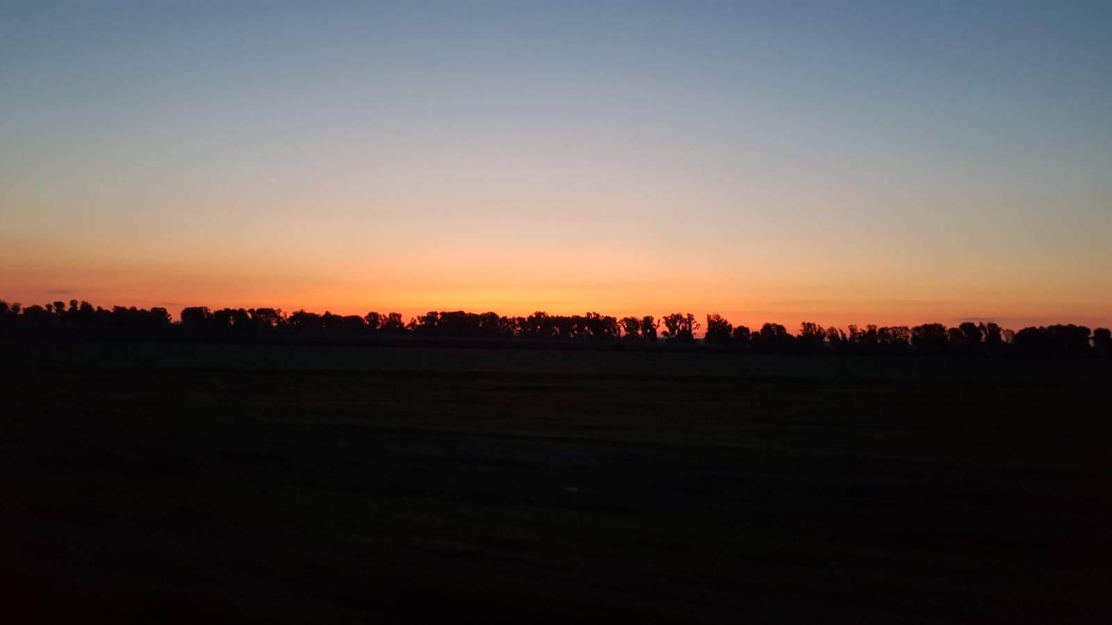 Na Westerplatte - poranek