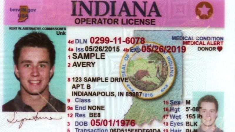 Indiana ID