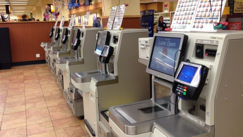 Self Check-out Area