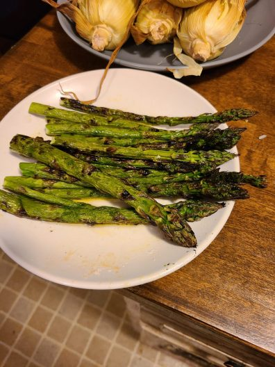 Asparagus is one of my favorites