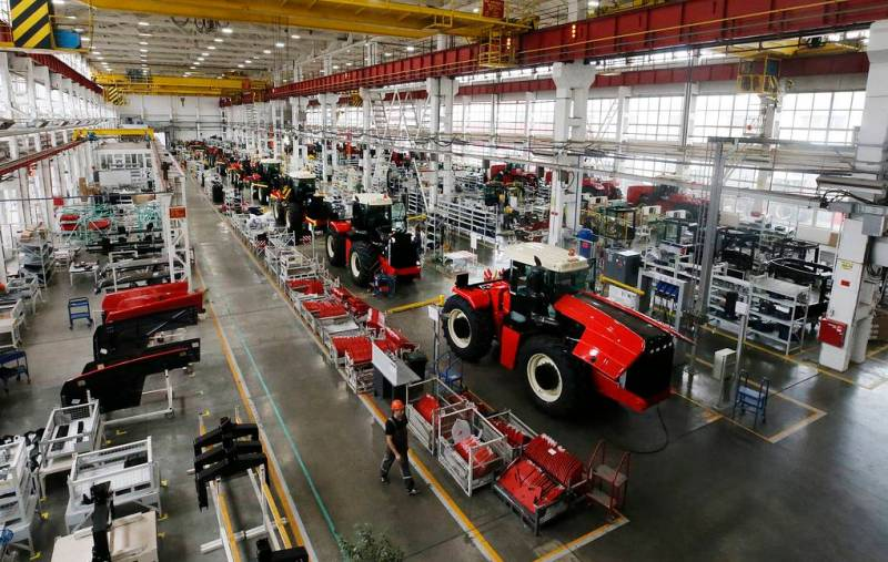 A Soviet Tractor Factory