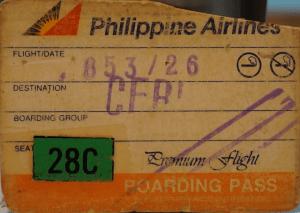 My Boarding Pass