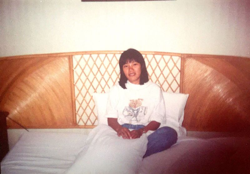 Feyma at the Hyatt Regency Hotel in Manila