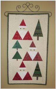 Santa Wall Quilt