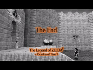 Ocarina of Time Ending