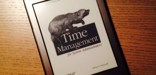 time management book image