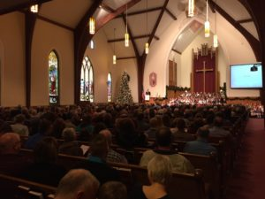 Christmas at St. Paul's Church