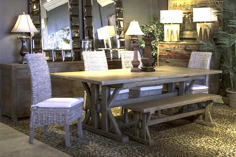 Reclaimed Wood Dining Tables And Sets Bob Mills