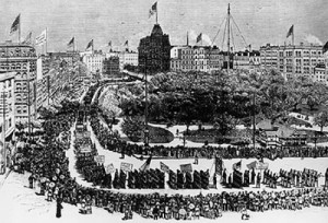 First Labor Day Parade (NYC 1892)
