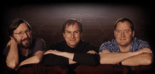 Ed Catmull, Steve Jobs, and John Lasseter