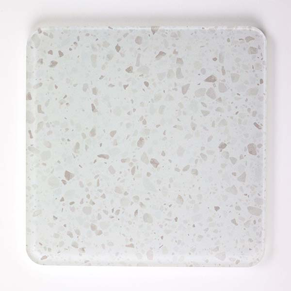 White Granite Coasters