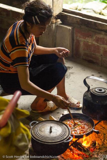 Cooking in Sapa