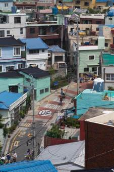 Gamcheon-Village-View-of-Street-and-Buildings