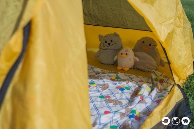 Camping on Naksan Beach