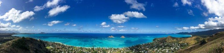 Lanikai Hawaii Panorama