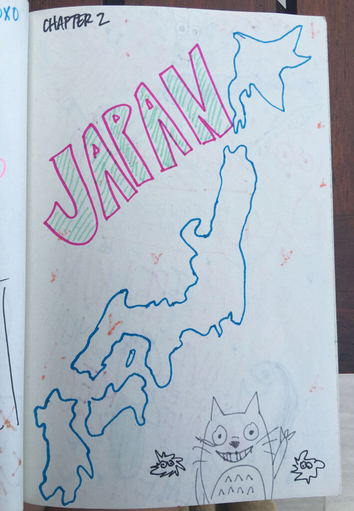 Japan Daily Doodles