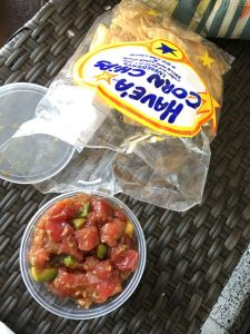 Ahi Poke Hawaii - A deliciously cheap thing to do in Oahu
