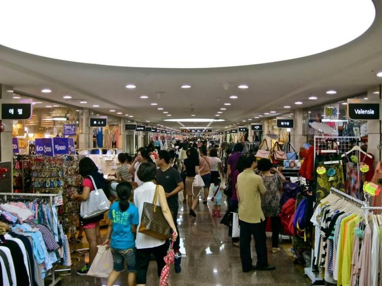 Seoul Underground Shopping