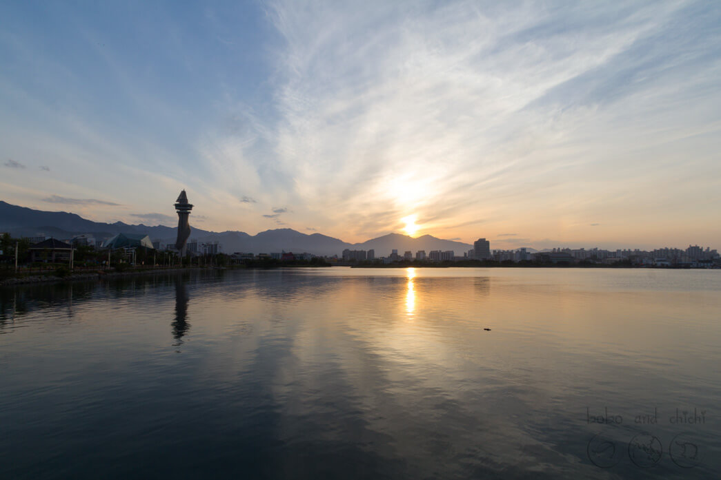 Sokcho Cheongchoho Lake