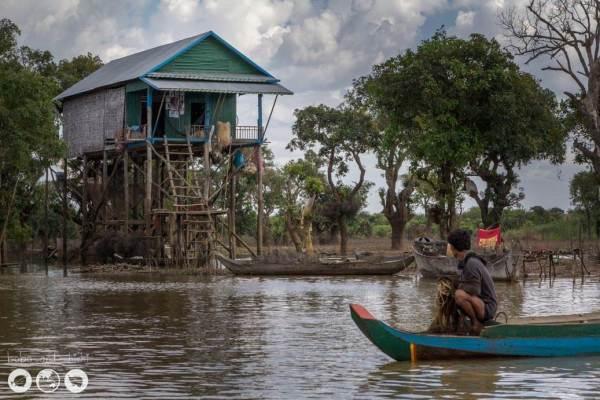Tonle-Sap-Village