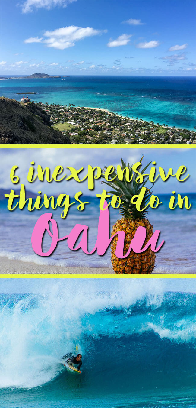 inexpensive things to do in oahu