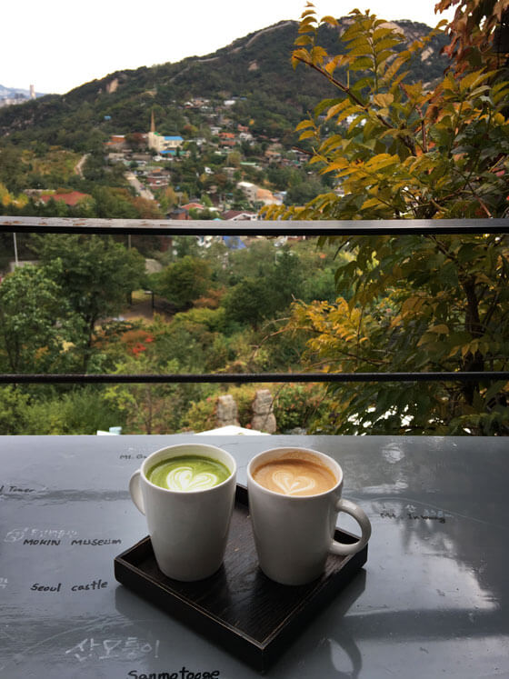 Cafes in Seoul