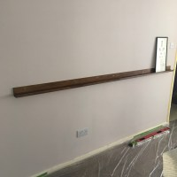 ONE ROOM CHALLENGE | WEEK FIVE:  PAINT + A PICTURE LEDGE = PROGRESS