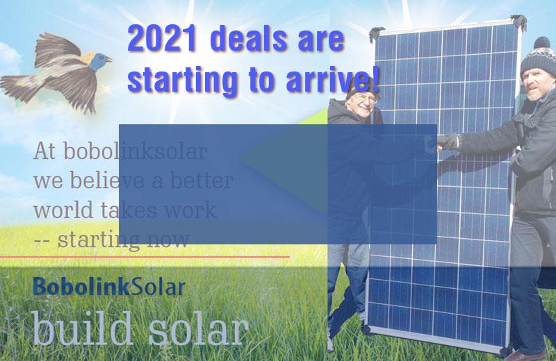 2021 Solar Deals start now