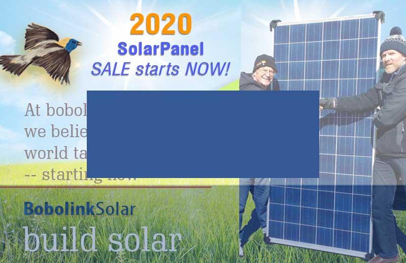 2020 Solar Panel Deals