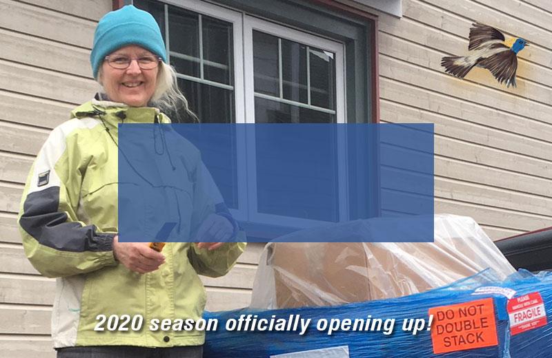 2020 season begins!