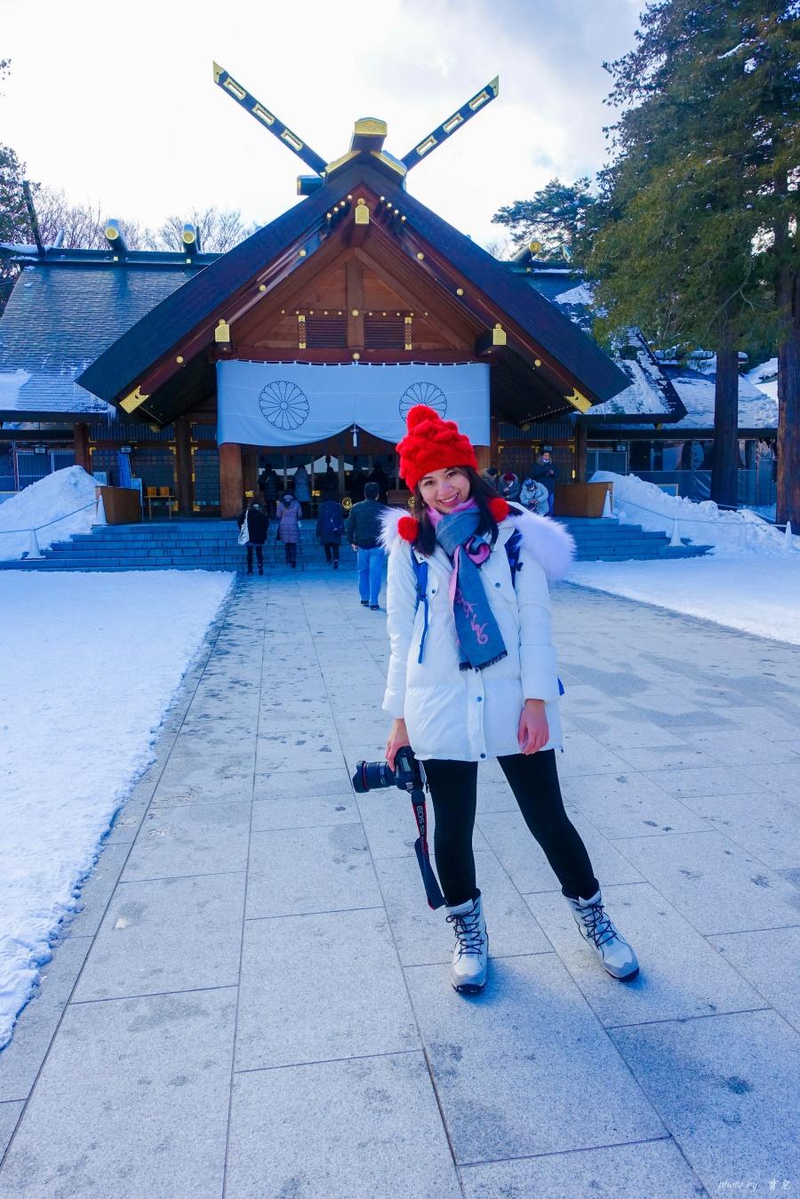 北海道冬季穿搭9