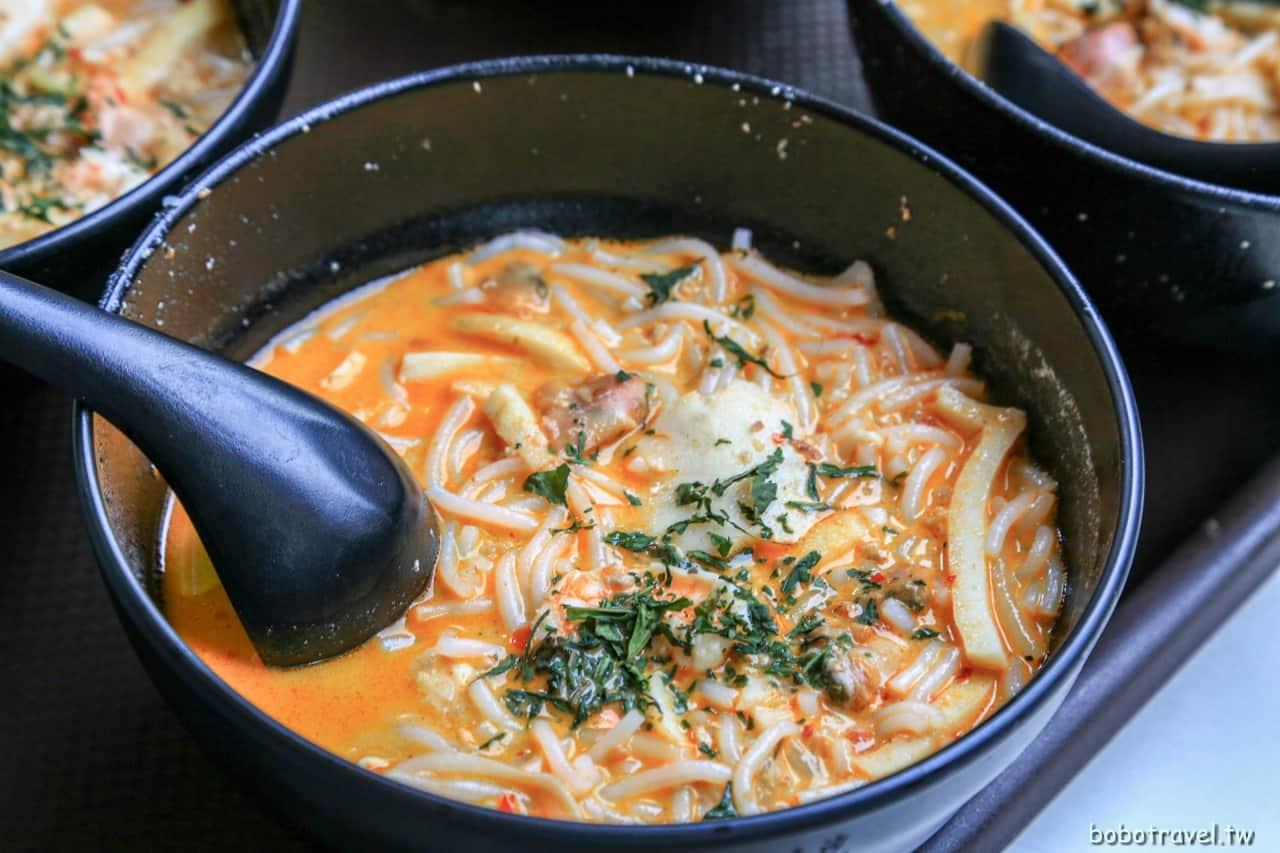 【新加坡美食|328加東叻沙 Katong Laksa】米其林必比登推薦叻沙!椰香滿溢,濃厚香醇的迷人風韻