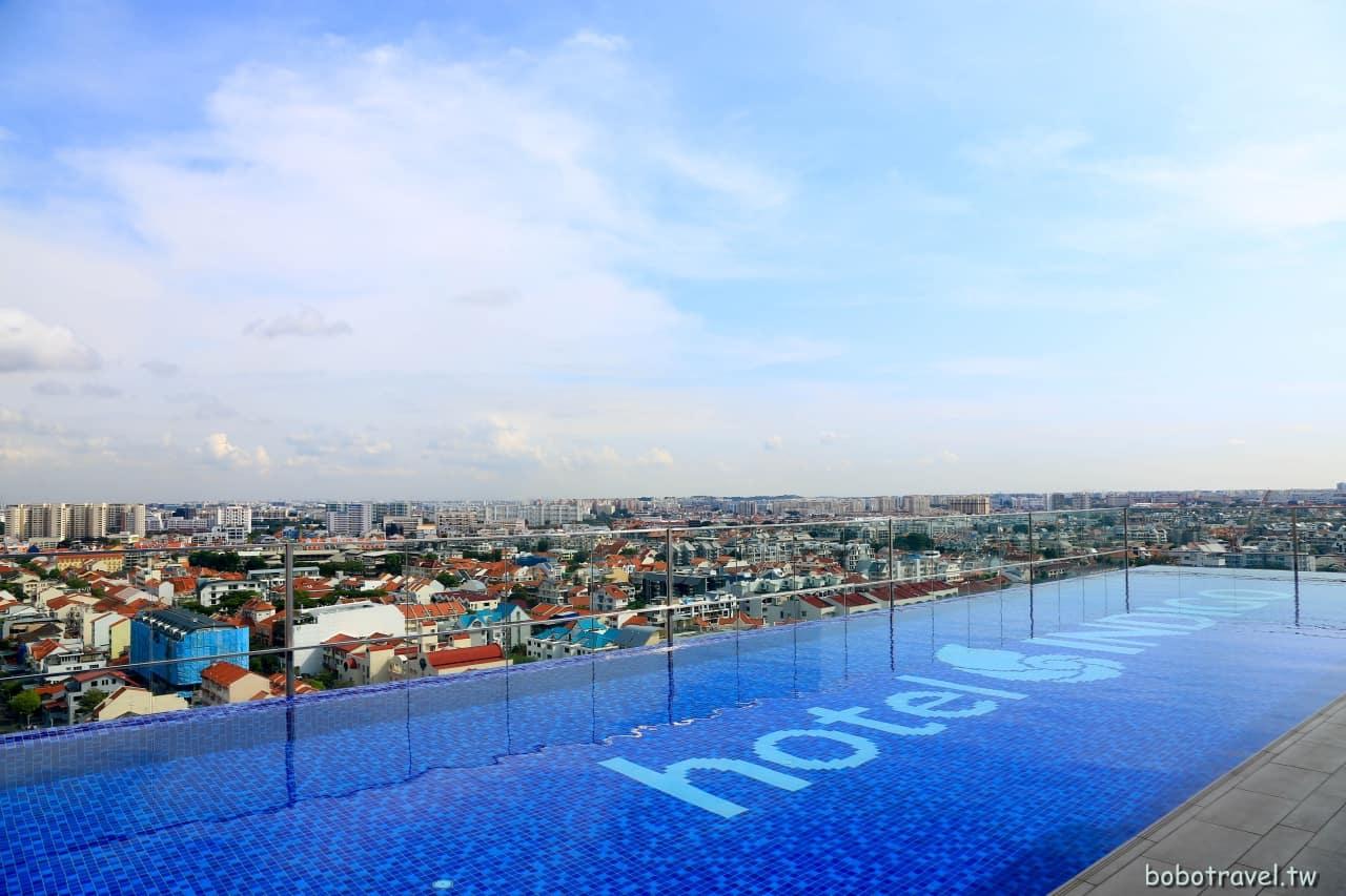 【新加坡住宿推薦|加東英迪格酒店】娘惹風格時尚設計旅店。現點現做早餐,坐擁無邊際泳池(Hotel Indigo Singapore Katong)