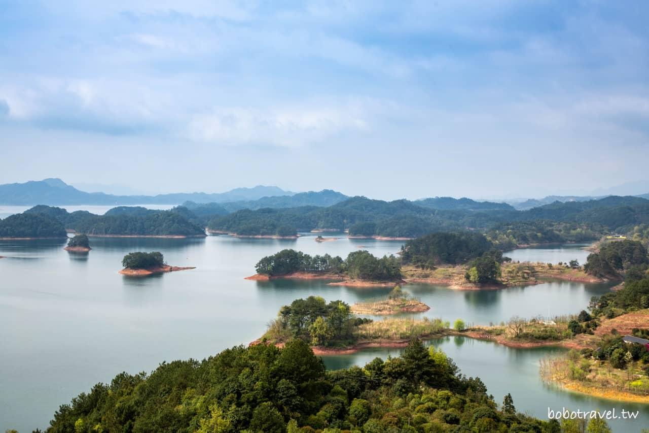 浙江千島湖完整攻略|千島湖怎麼玩?交通資訊、搭船登島、單車環湖、皮划艇,一篇搞定千島湖!