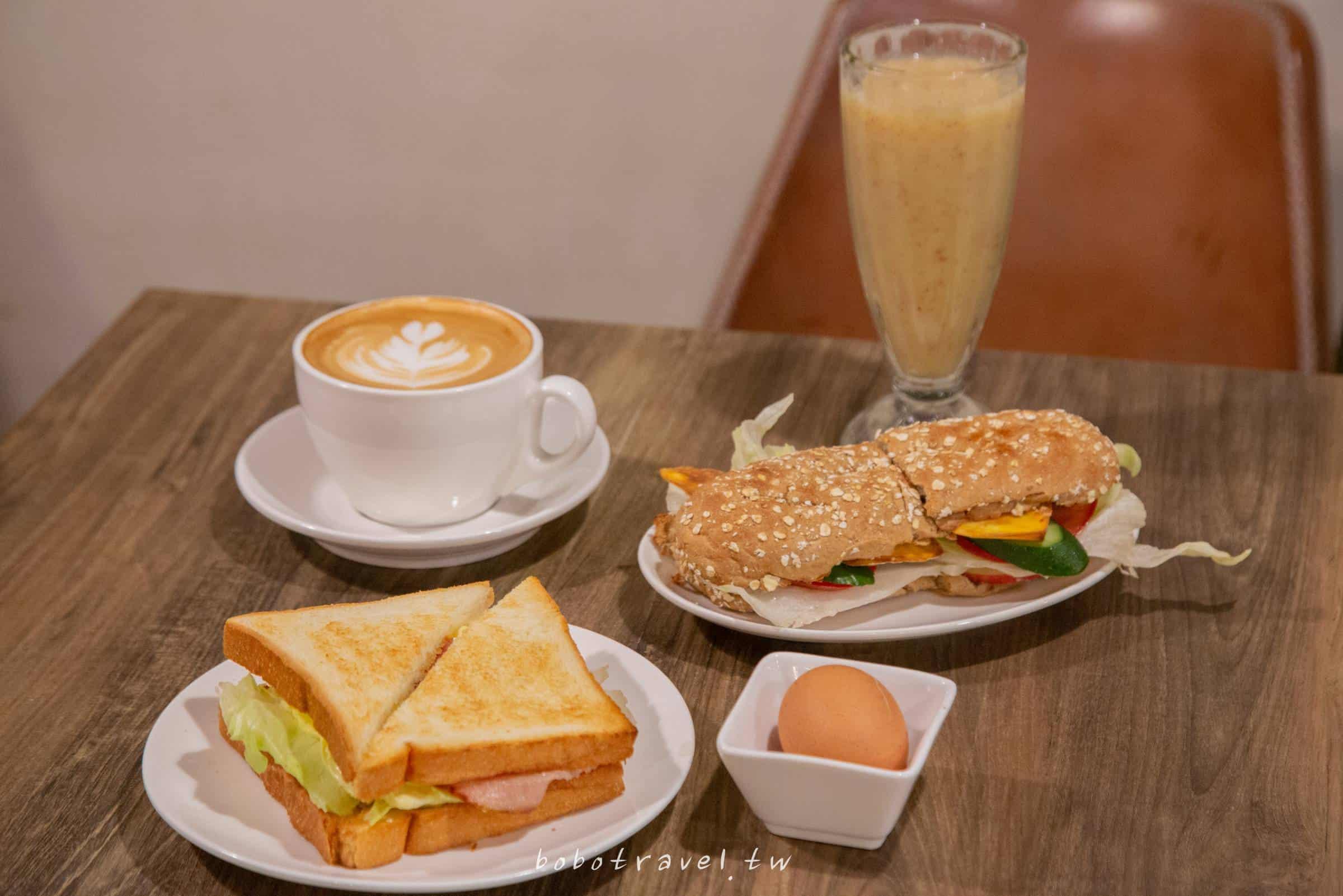 一齊享食間、行天宮站美食|台北中山區清新風格不限時早午餐,分享早晨美好時光