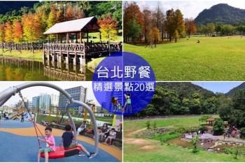 《 台北市內野餐地點 》台北無料親子野餐景點~假日野餐正夯 收集大草皮去/滑草/看飛機/玩水/玩沙景點