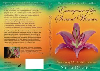 Emergence of the Sensual Woman - Book Cover Illustration & Design by Bob Paltrow