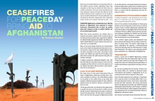 Peace Day Magazine - Publication Design by Bob Paltrow