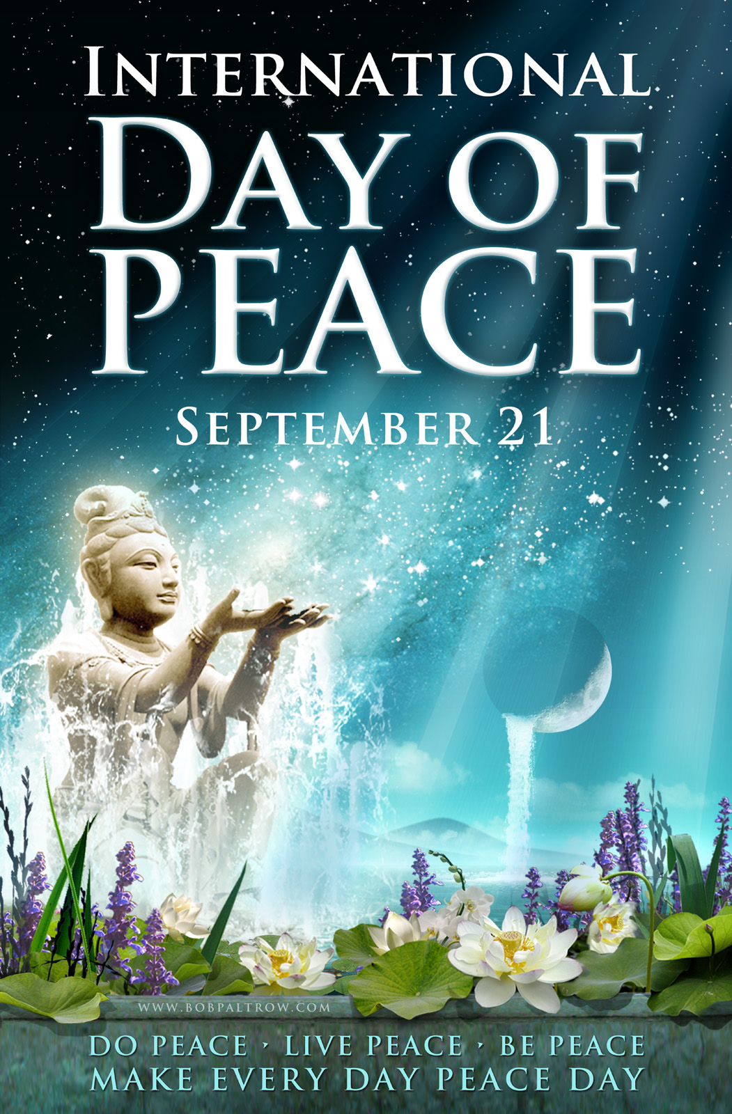 POSTER DESIGN - International Day of Peace - Illustration & Design by Bob Paltrow