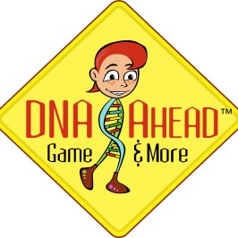 LOGO DESIGN - DNA Ahead Board Game