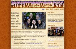Millie and the Mentshn Klezmer - Bob Paltrow Web Design Bellingham WA 1