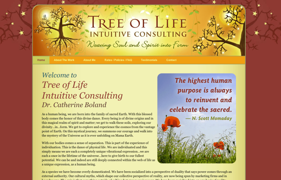 Tree of Life Consulting - Bob Paltrow Web Design Bellingham WA