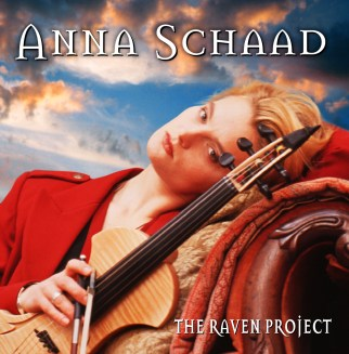 The Raven Project CD Design by Bob Paltrow Design. Client: Anna Schaad/Raven Fiddle Productions