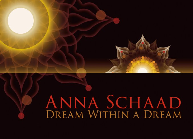 Dream Within A Dream Promotional Postcard Design by Bob Paltrow Design. Client: Anna Schaad/Raven Fiddle Productions