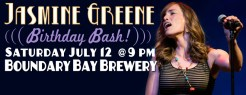 Facebook Event Cover design by Bob Paltrow. Client: Jasmine Greene Band