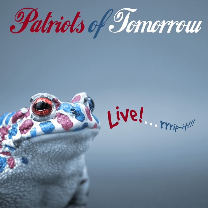 Patriots of Tomorrow CD Cover design by Bob Paltrow Design