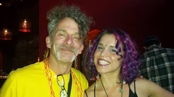 Myself and my Ruby Flambé music partner Bailey Ann Martinet