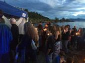 Ceremony at Glass Beach, Bellingham