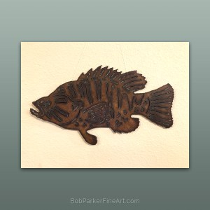 BobParkerFineArt.com | Fine Metal Art Designs by Bob Parker ~ DESIGN-1843