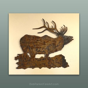 BobParkerFineArt.com | Fine Metal Art Designs by Bob Parker ~ DESIGN-2107